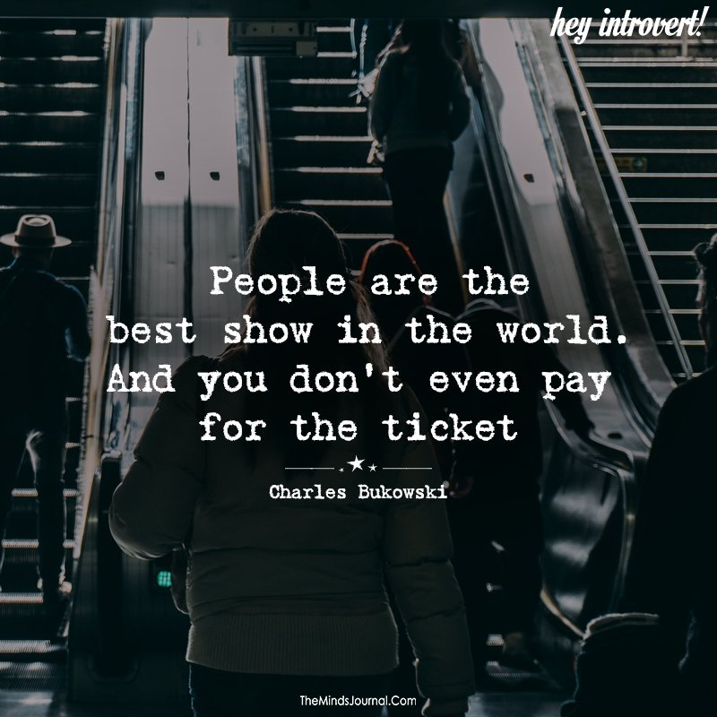 People Are The Best Show In The World