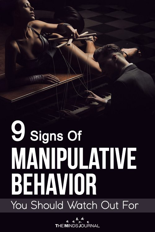 9 Signs Of Manipulative Behavior You Should Watch Out For