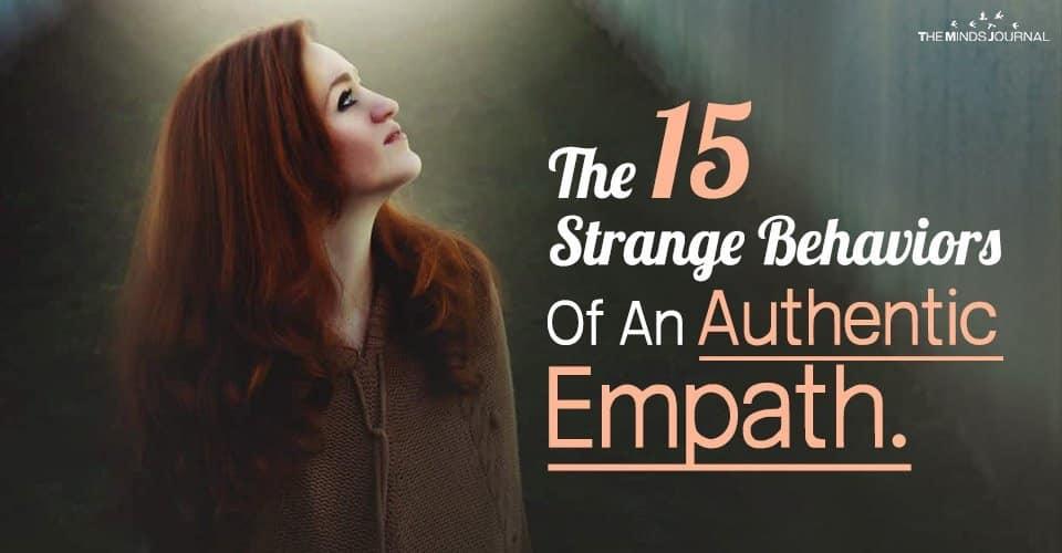 Behaviors Of Authentic Empath