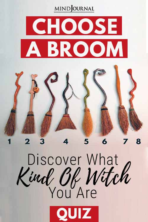 Choose broom Kind Of witch Pin