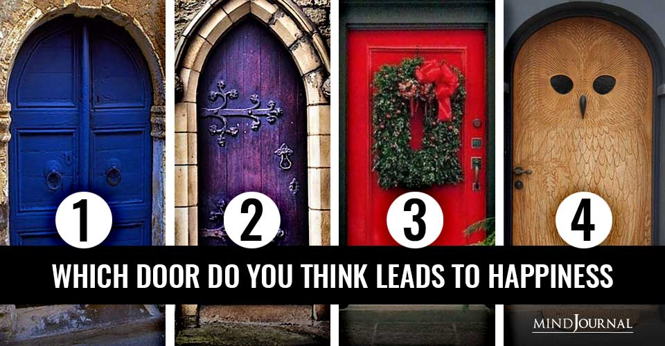 Door You Think Leads Happiness