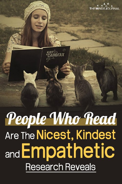 People Who Read Are The Nicest, Kindest and Empathetic, Research Reveals