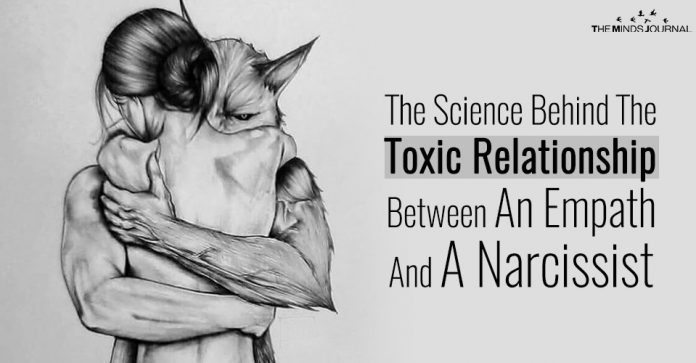 The Science Behind The Toxic Relationship Between An Empath And A Narcissist