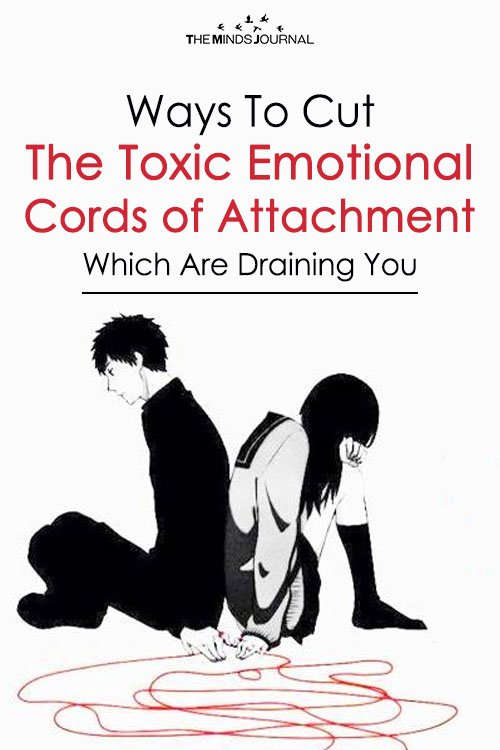 cords of toxic emotional attachments