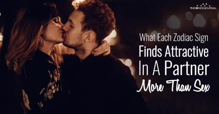 What Each Zodiac Sign Finds More Attractive In A Partner Than Sex