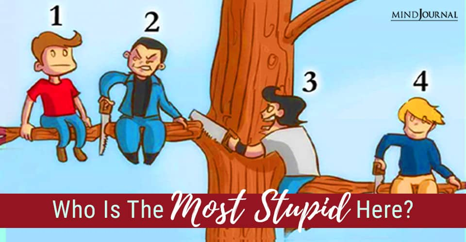Who The Most Stupid Here