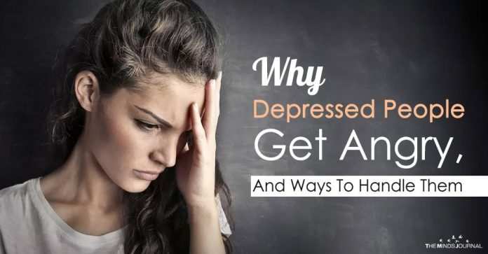 Why Depressed People Get Angry, And Ways To Handle Them