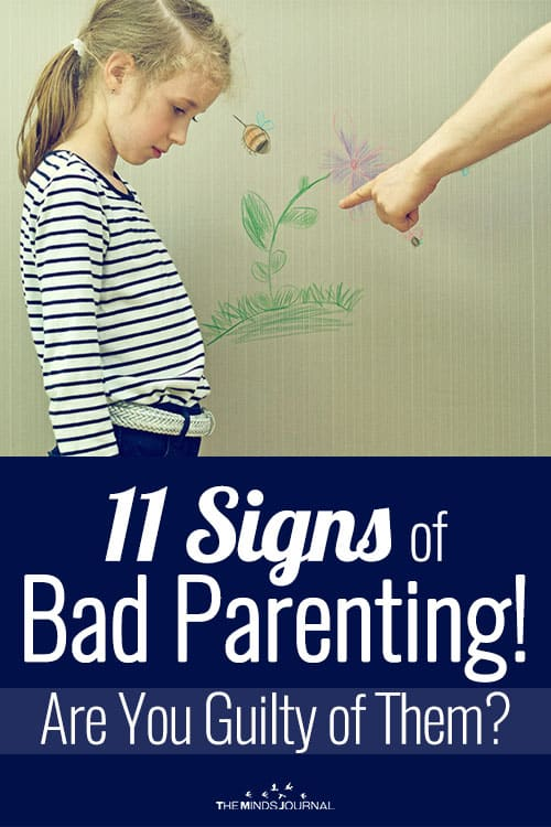 11 Signs of Bad Parenting