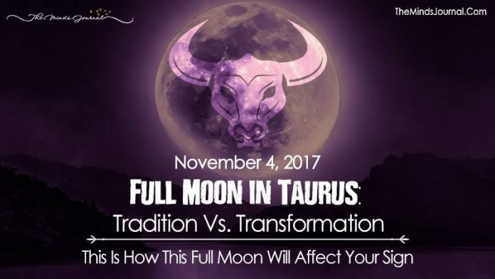 Full Moon in Taurus: Tradition vs. Transformation - This Is How This Full Moon Will Affect Your Sign