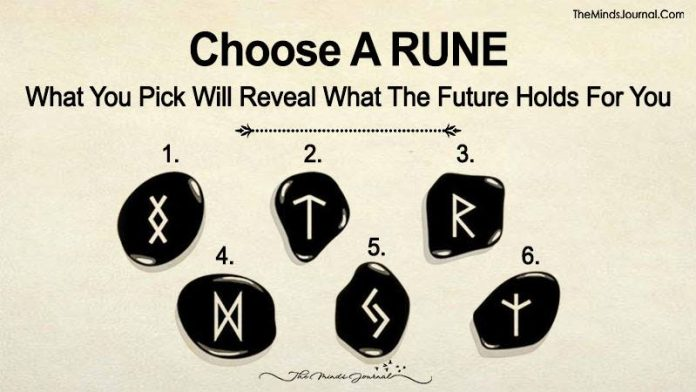 Choose A RUNE. What You Pick Will Reveal What The Future Holds For You
