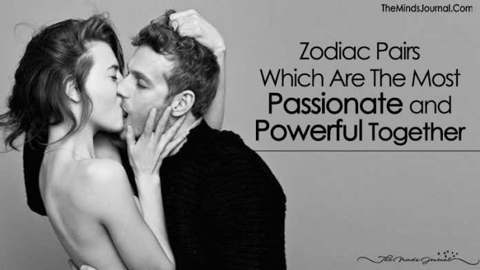 Zodiac Pairs That're The Most Passionate
