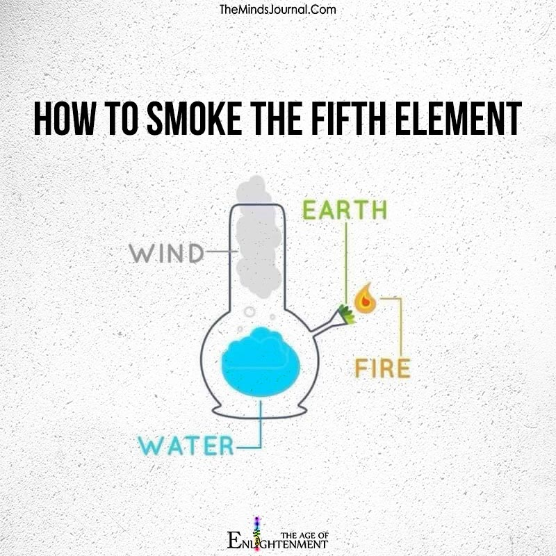 How to smoke the fifth element