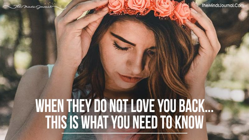 When They Don't Love You Back, This Is What You Need To Know