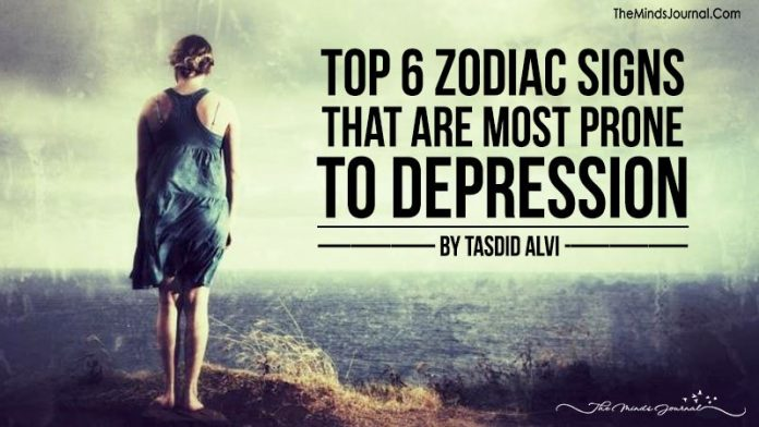 Top 6 Zodiac Signs That Are More Prone To Depression
