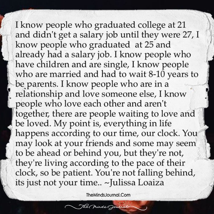 I know people who graduated college at 21