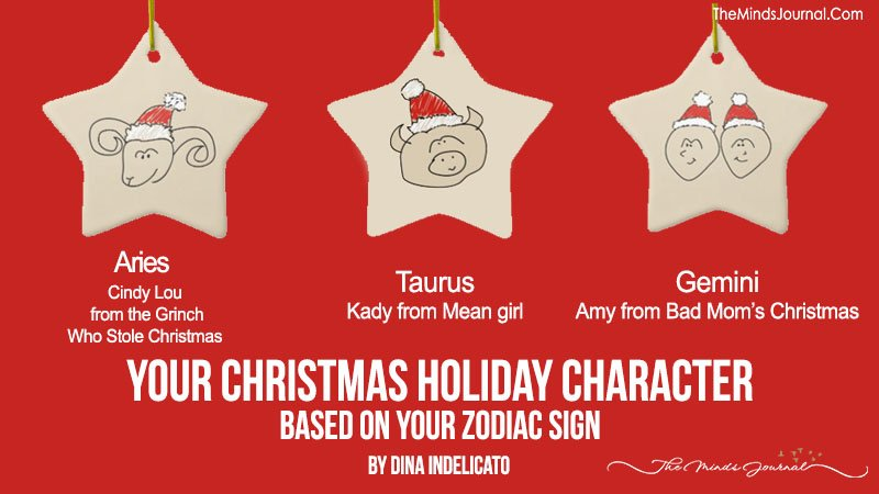 Your Christmas Holiday Character Based On Zodiac Sign