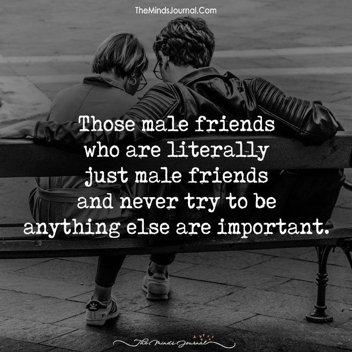 Those Male Friends