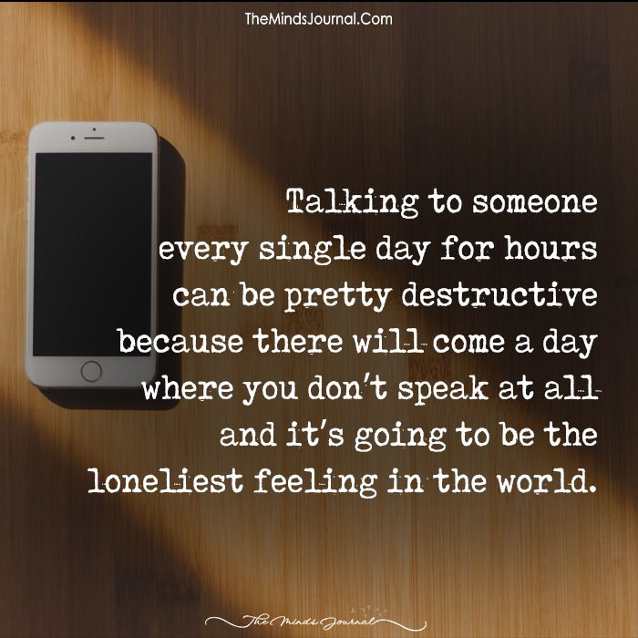 Talking To Someone Every Single Day For Hours Can Be Pretty