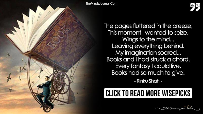 My Imagination Soared... Books and I Had Struck a Chord. - The Minds ...