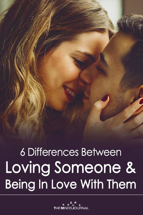 6 Differences Between Loving Someone & Being In Love With Them