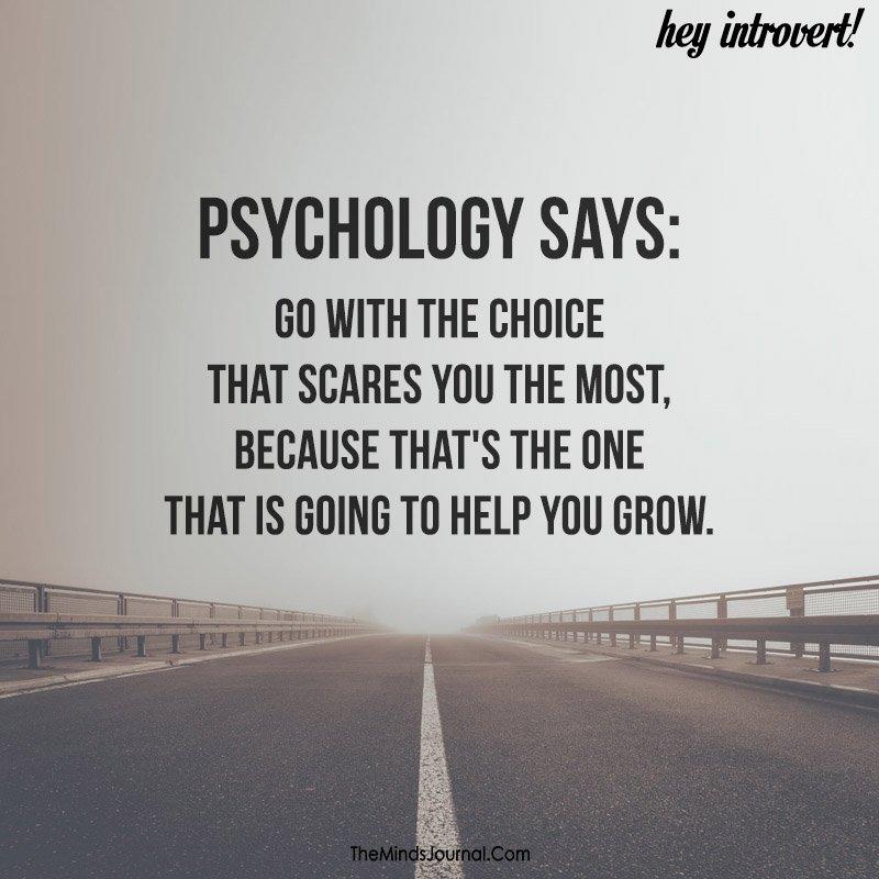 Psychology says
