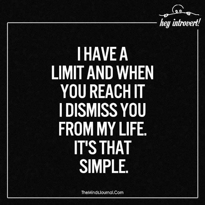I have a limit