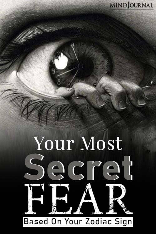 Most Secret Fear Zodiac Sign pin