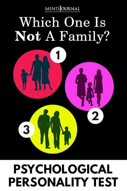 Not Family Psychological Personality Test Pin
