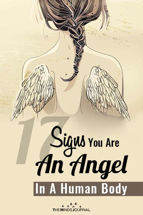Signs Angel In Human Body pin