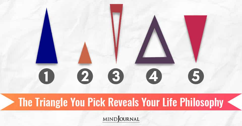 Triangle You Pick Reveals Your Life Philosophy