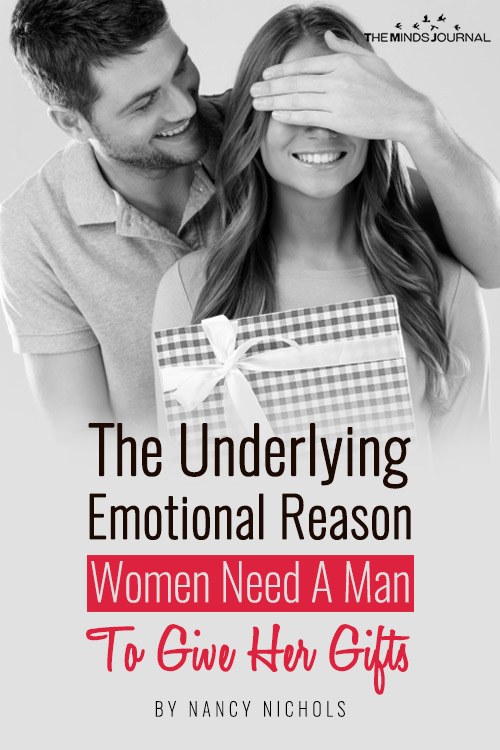 The Underlying Emotional Reason Women Need A Man To Give Her Gifts