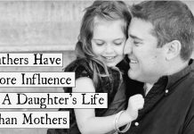 Sorry Moms! A Recent Study Reveals Fathers Have More Influence in A Daughter's Life Than Mothers