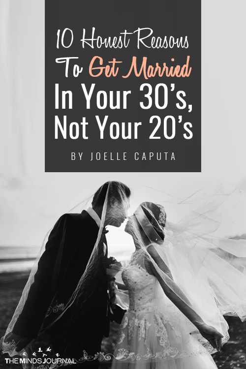honest reasons to get married pin