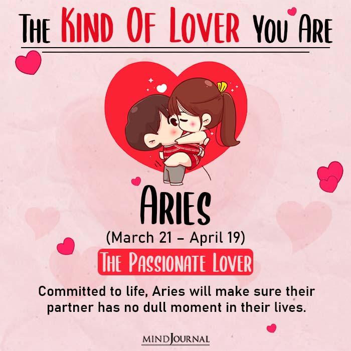 kind of love aries