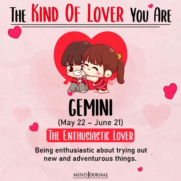 kind of love gemini