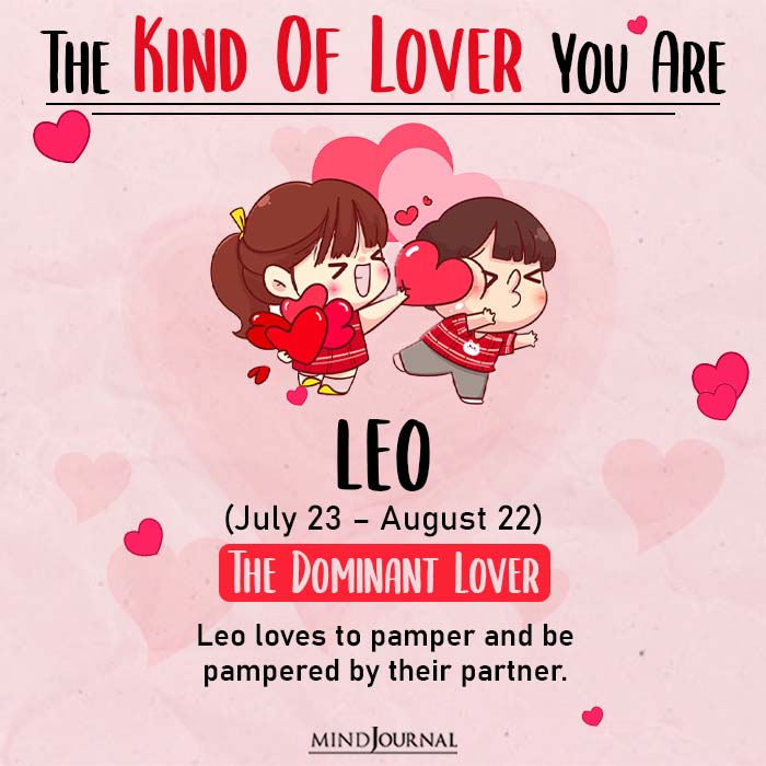 kind of love leo