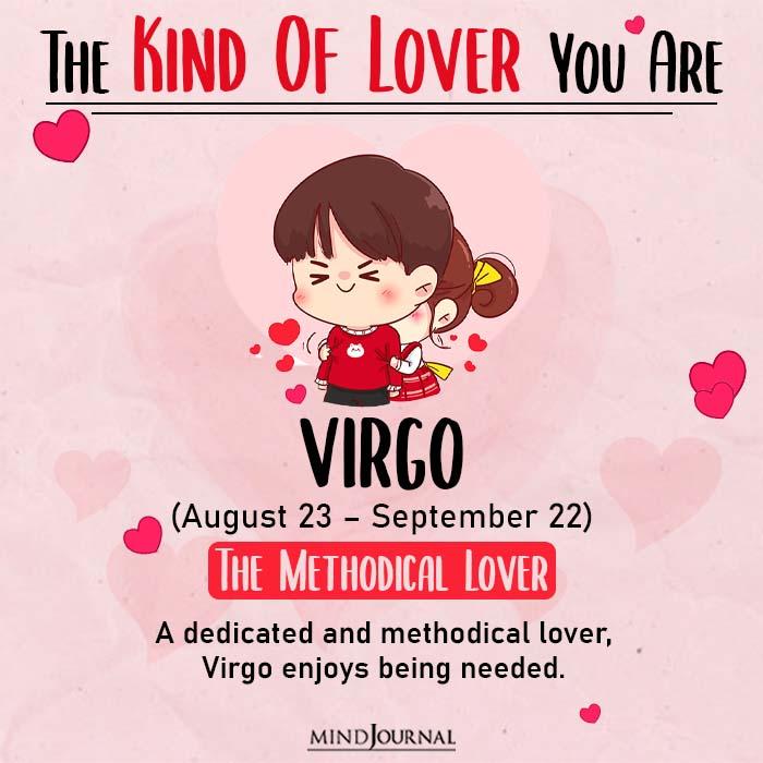 kind of love virgo