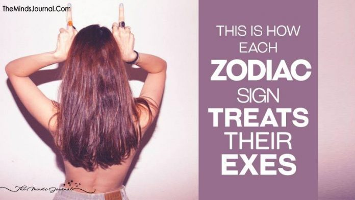 Zodiac Sign Treats Their Exes After Breakup