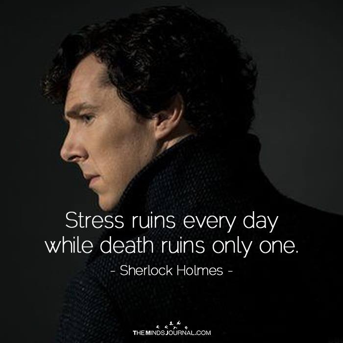 Stress Ruins Every day