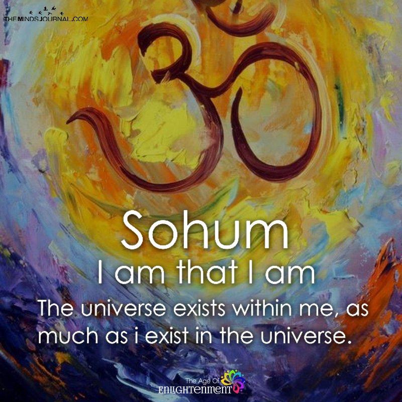 Sohum I Am That I Am