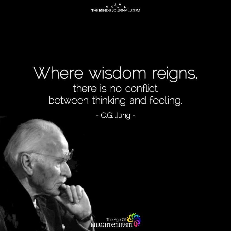 Where wisdom reigns