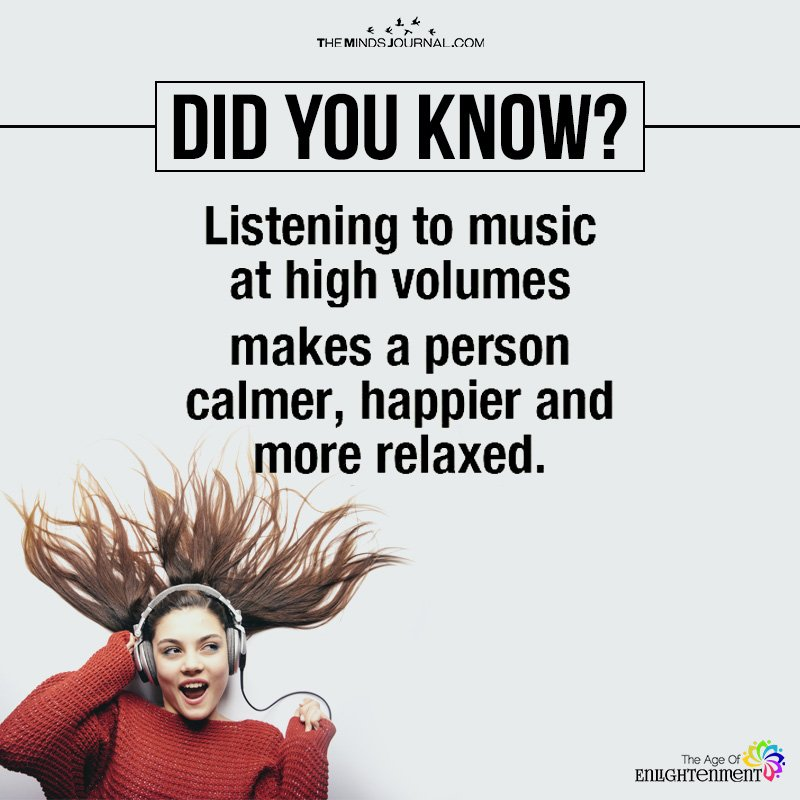 Listening To Music At High Volumes