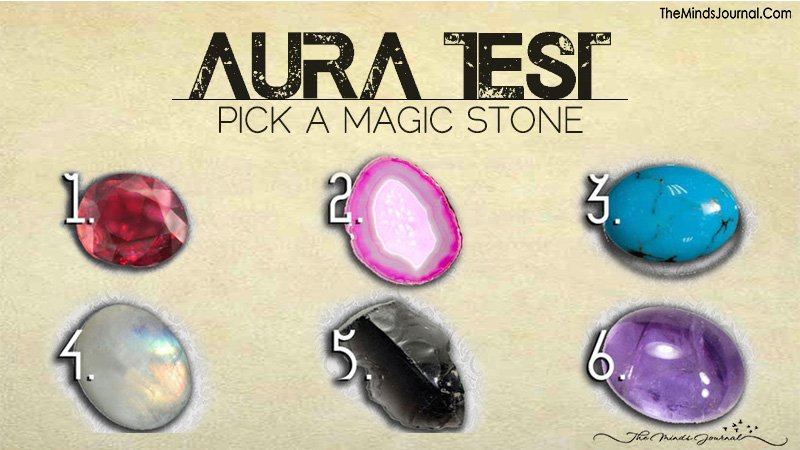 Aura Test – Pick a Magic Stone