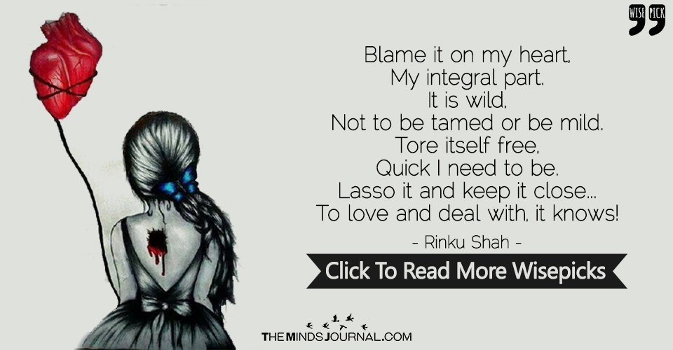 Blame It On My Heart, My Integral Part