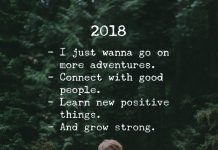2018 - I Just Wanna Go On More Adventures.