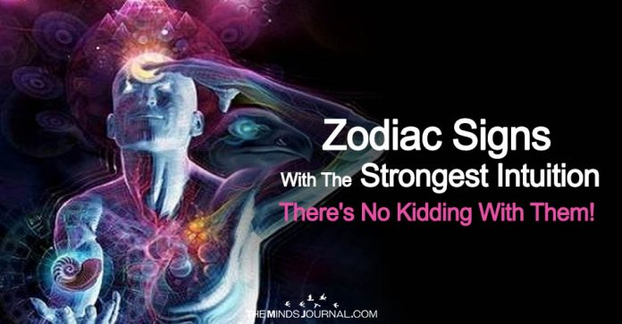 The Zodiac Signs With The Strongest Intuition