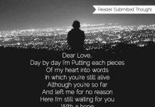 Dear Love..