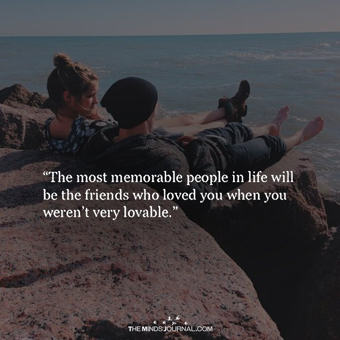 The Most Memorable People In Life