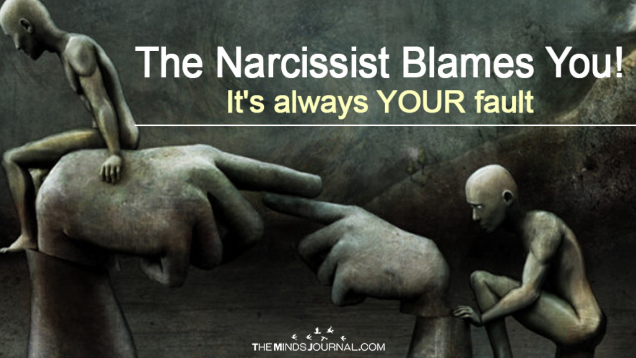 The Narcissist Blames You! It's ALWAYS Your Fault