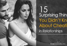 15 Things You Didn't Know About Cheating in Relationships